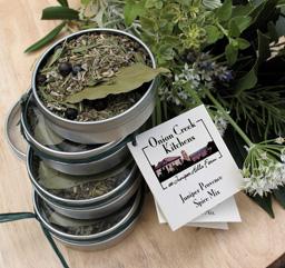 juniper spice mix tin
