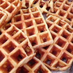 Waffles for BLT