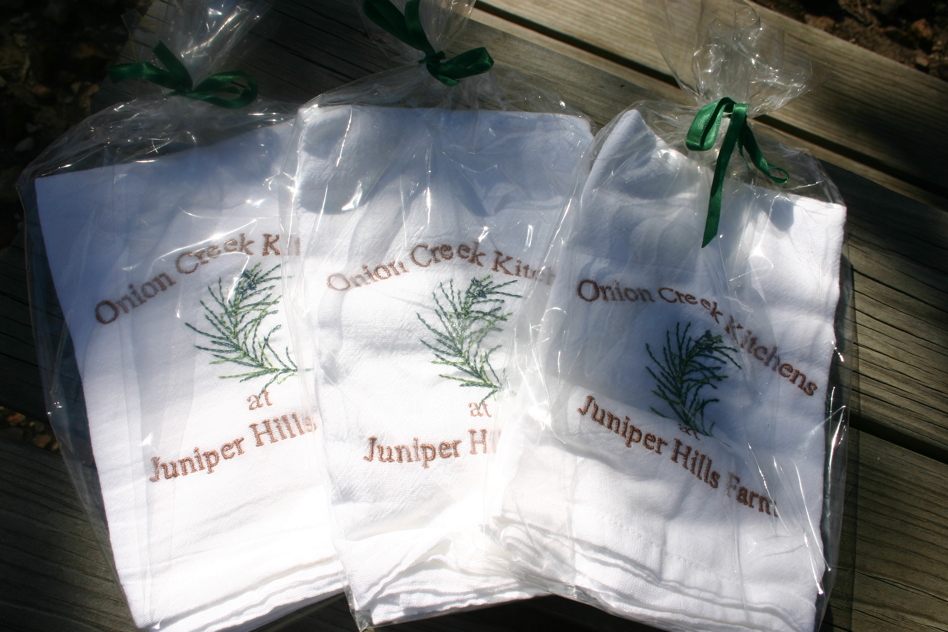 Juniper Hills Farm Napkins